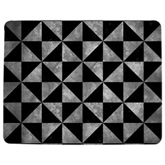 Triangle1 Black Marble & Gray Metal 2 Jigsaw Puzzle Photo Stand (rectangular) by trendistuff