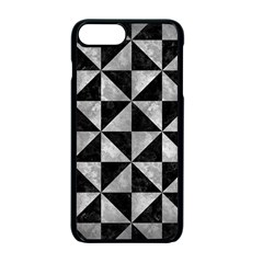 Triangle1 Black Marble & Gray Metal 2 Apple Iphone 7 Plus Seamless Case (black) by trendistuff