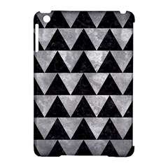 Triangle2 Black Marble & Gray Metal 2 Apple Ipad Mini Hardshell Case (compatible With Smart Cover) by trendistuff