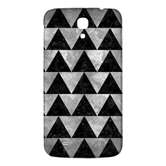 Triangle2 Black Marble & Gray Metal 2 Samsung Galaxy Mega I9200 Hardshell Back Case by trendistuff