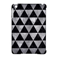 Triangle3 Black Marble & Gray Metal 2 Apple Ipad Mini Hardshell Case (compatible With Smart Cover) by trendistuff