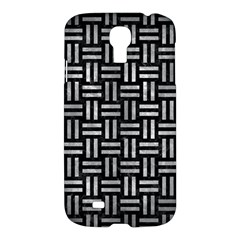 Woven1 Black Marble & Gray Metal 2 Samsung Galaxy S4 I9500/i9505 Hardshell Case by trendistuff
