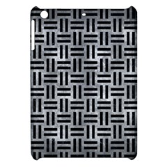 Woven1 Black Marble & Gray Metal 2 (r) Apple Ipad Mini Hardshell Case by trendistuff