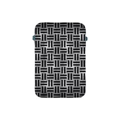 Woven1 Black Marble & Gray Metal 2 (r) Apple Ipad Mini Protective Soft Cases by trendistuff