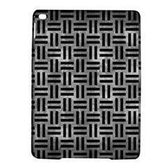 Woven1 Black Marble & Gray Metal 2 (r) Ipad Air 2 Hardshell Cases by trendistuff