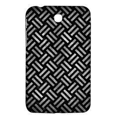 Woven2 Black Marble & Gray Metal 2 Samsung Galaxy Tab 3 (7 ) P3200 Hardshell Case  by trendistuff