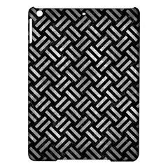 Woven2 Black Marble & Gray Metal 2 Ipad Air Hardshell Cases by trendistuff