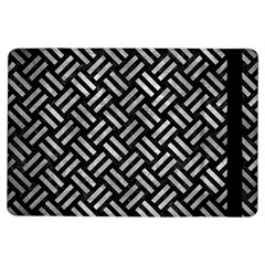 Woven2 Black Marble & Gray Metal 2 Ipad Air Flip by trendistuff