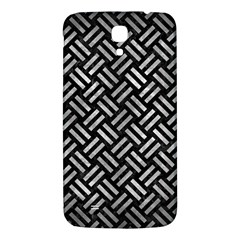 Woven2 Black Marble & Gray Metal 2 Samsung Galaxy Mega I9200 Hardshell Back Case by trendistuff