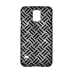 Woven2 Black Marble & Gray Metal 2 (r) Samsung Galaxy S5 Hardshell Case  by trendistuff