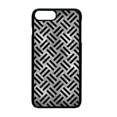 Woven2 Black Marble & Gray Metal 2 (r) Apple Iphone 7 Plus Seamless Case (black) by trendistuff