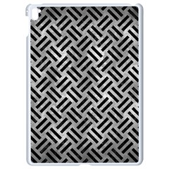 Woven2 Black Marble & Gray Metal 2 (r) Apple Ipad Pro 9 7   White Seamless Case by trendistuff