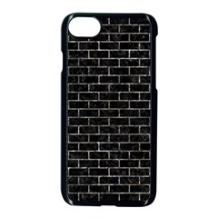 Brick1 Black Marble & Gray Stone Apple Iphone 7 Seamless Case (black) by trendistuff