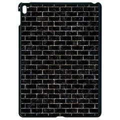 Brick1 Black Marble & Gray Stone Apple Ipad Pro 9 7   Black Seamless Case