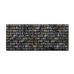 Brick1 Black Marble & Gray Stone (r) Cosmetic Storage Cases by trendistuff