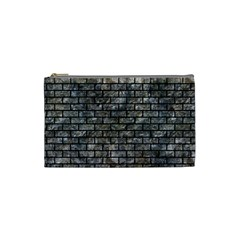 Brick1 Black Marble & Gray Stone (r) Cosmetic Bag (small)  by trendistuff