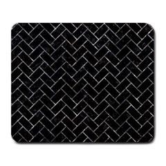Brick2 Black Marble & Gray Stone Large Mousepads by trendistuff