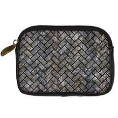 Brick2 Black Marble & Gray Stone (r) Digital Camera Cases by trendistuff