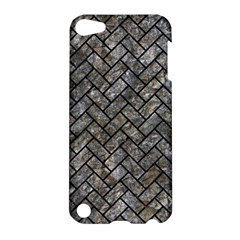Brick2 Black Marble & Gray Stone (r) Apple Ipod Touch 5 Hardshell Case by trendistuff