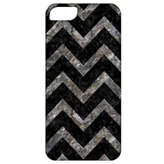 Chevron9 Black Marble & Gray Stone Apple Iphone 5 Classic Hardshell Case by trendistuff