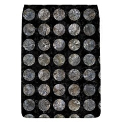 Circles1 Black Marble & Gray Stone Flap Covers (s)  by trendistuff