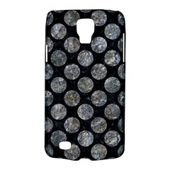 Circles2 Black Marble & Gray Stone Galaxy S4 Active by trendistuff