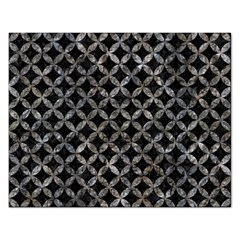 Circles3 Black Marble & Gray Stone Rectangular Jigsaw Puzzl by trendistuff