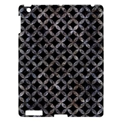 Circles3 Black Marble & Gray Stone Apple Ipad 3/4 Hardshell Case by trendistuff