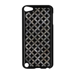 Circles3 Black Marble & Gray Stone Apple Ipod Touch 5 Case (black) by trendistuff