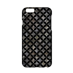 Circles3 Black Marble & Gray Stone (r) Apple Iphone 6/6s Hardshell Case by trendistuff