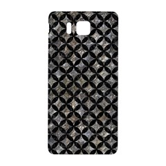 Circles3 Black Marble & Gray Stone (r) Samsung Galaxy Alpha Hardshell Back Case by trendistuff