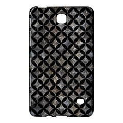 Circles3 Black Marble & Gray Stone (r) Samsung Galaxy Tab 4 (8 ) Hardshell Case  by trendistuff