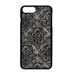 Damask1 Black Marble & Gray Stone (r) Apple Iphone 7 Plus Seamless Case (black) by trendistuff