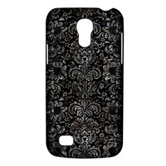 Damask2 Black Marble & Gray Stone Galaxy S4 Mini by trendistuff