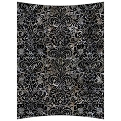 Damask2 Black Marble & Gray Stone (r) Back Support Cushion by trendistuff