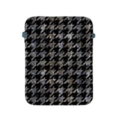Houndstooth1 Black Marble & Gray Stone Apple Ipad 2/3/4 Protective Soft Cases by trendistuff