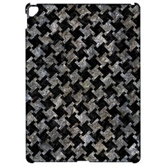 Houndstooth2 Black Marble & Gray Stone Apple Ipad Pro 12 9   Hardshell Case by trendistuff