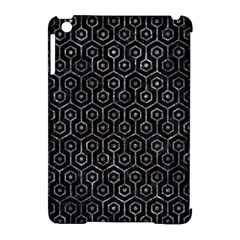 Hexagon1 Black Marble & Gray Stone Apple Ipad Mini Hardshell Case (compatible With Smart Cover) by trendistuff