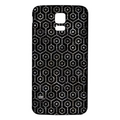 Hexagon1 Black Marble & Gray Stone Samsung Galaxy S5 Back Case (white) by trendistuff