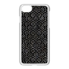 Hexagon1 Black Marble & Gray Stone Apple Iphone 7 Seamless Case (white) by trendistuff