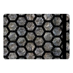 Hexagon2 Black Marble & Gray Stone (r) Apple Ipad Pro 10 5   Flip Case by trendistuff