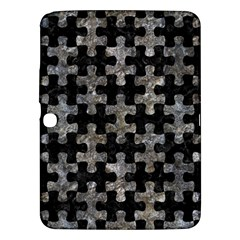 Puzzle1 Black Marble & Gray Stone Samsung Galaxy Tab 3 (10 1 ) P5200 Hardshell Case  by trendistuff