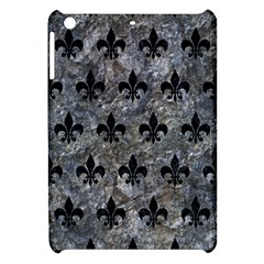 Royal1 Black Marble & Gray Stone Apple Ipad Mini Hardshell Case by trendistuff