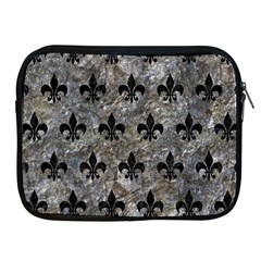 Royal1 Black Marble & Gray Stone Apple Ipad 2/3/4 Zipper Cases by trendistuff