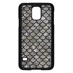 Scales1 Black Marble & Gray Stone (r) Samsung Galaxy S5 Case (black) by trendistuff