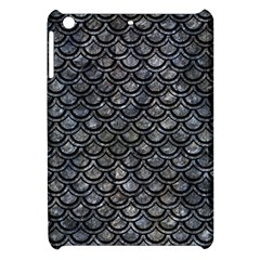 Scales2 Black Marble & Gray Stone (r) Apple Ipad Mini Hardshell Case by trendistuff