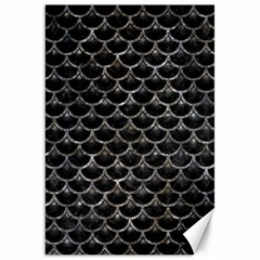 Scales3 Black Marble & Gray Stone Canvas 20  X 30   by trendistuff