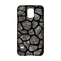 Skin1 Black Marble & Gray Stone Samsung Galaxy S5 Hardshell Case  by trendistuff