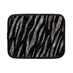 Skin3 Black Marble & Gray Stone Netbook Case (small)  by trendistuff