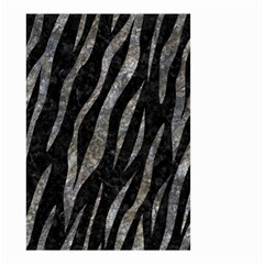 Skin3 Black Marble & Gray Stone Small Garden Flag (two Sides) by trendistuff